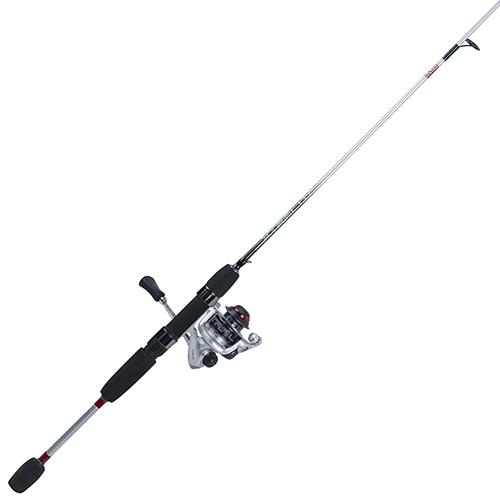 Xtralite Spinning Combo – 5.2:1 Gear Ratio, 3+1 Bearings, 4'6″ 1pc Rod, 2-6 lb Line Rate, Ambidextrous