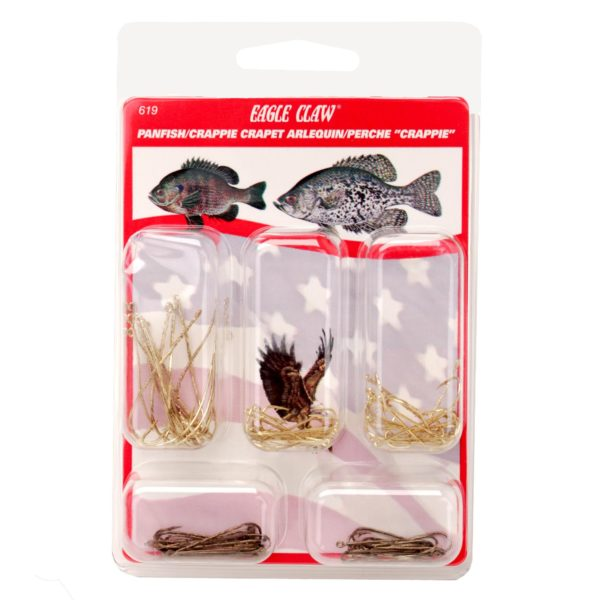 Hook Assortment – Panfish-Crappie (Per 80)