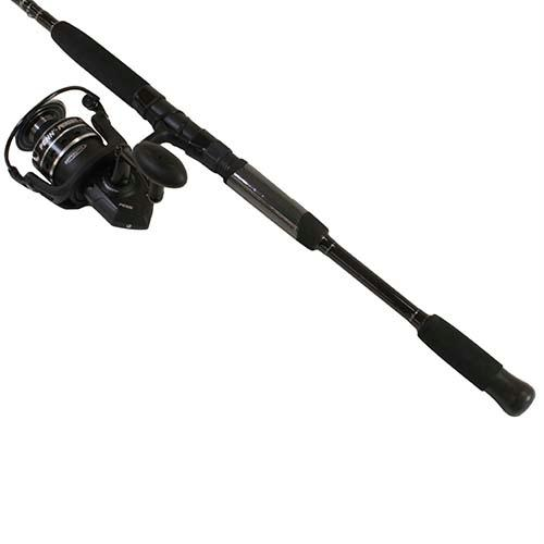 Pursuit III Saltwater Spinning Combo - 6000, 5 6:1 Gear Ratio, 8' Length  2pc, 12-25 lb Line Rating, Ambidextrous