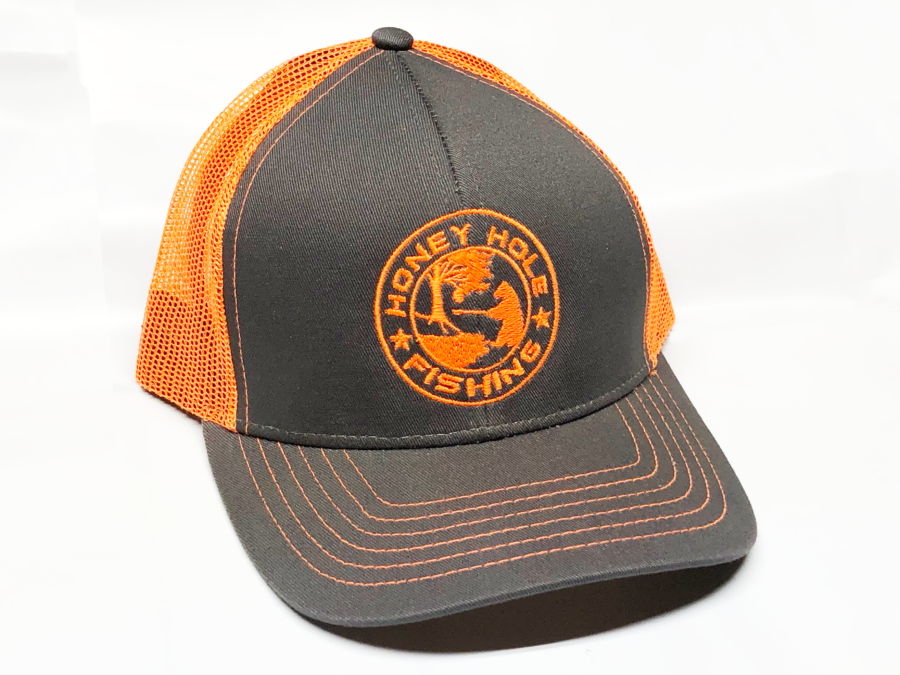 Orange Mach Hat