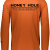 Fish Bump Ruler Shirt – Burnt Orange 29234