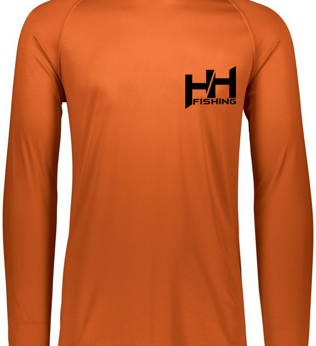 Performance Long Sleeve – Burnt Orange