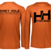 Fish Bump Ruler Shirt – Burnt Orange