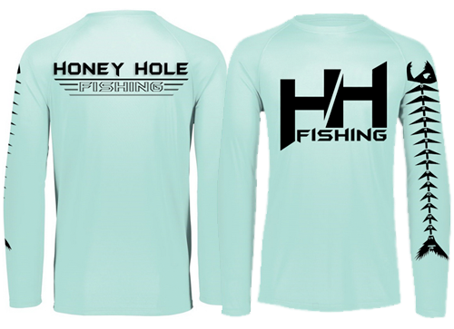 Fish Bump Ruler Shirt – Seafoam