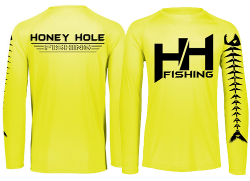 Fish Bump Ruler Shirt – Hi Vis Yellow